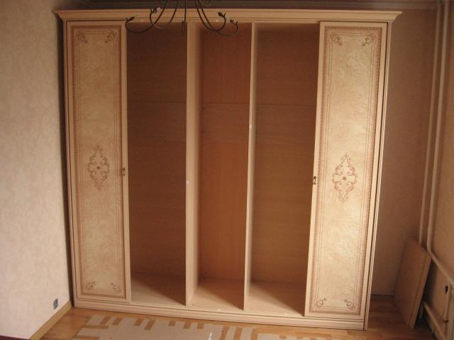 фото сборка шкафа шатура пяти дверного