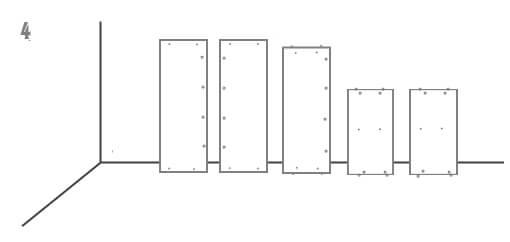 схема установки шкафа 4