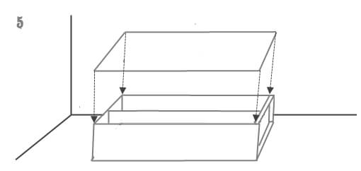 схема установки шкафа 5