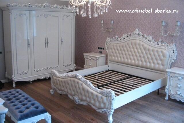 спальня bianco (белая) фабрика AP
