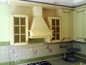 кухонная мебель на новом месте