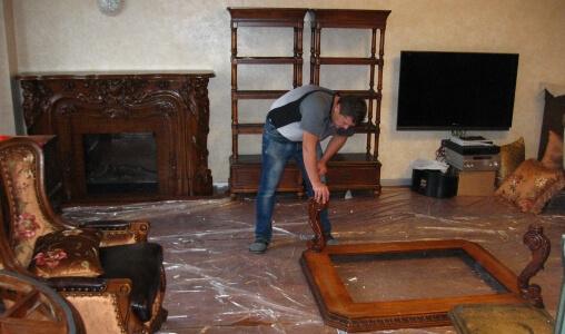 перестановка мебели в доме