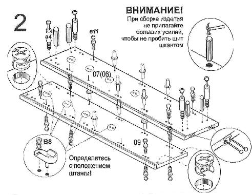 Установка мебельной фурнитуры