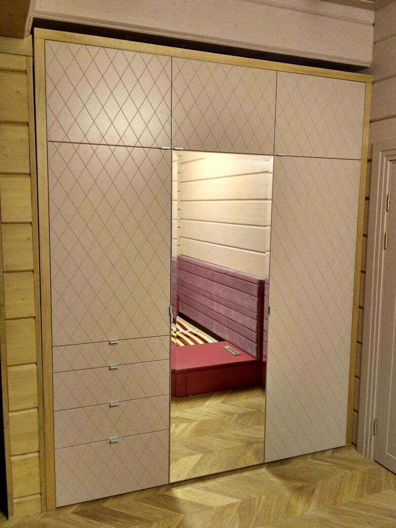 шкаф для ниши в спальню