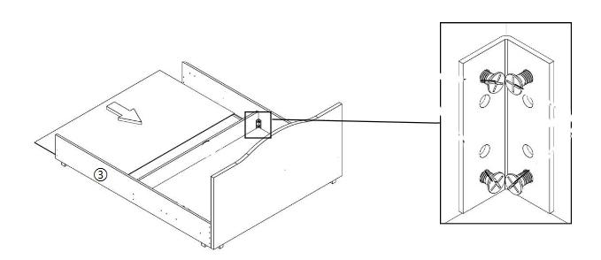 установка внутренней планки в кровати