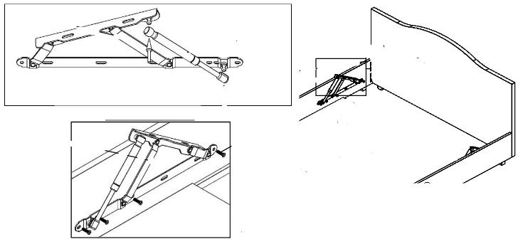 установка подъемного механизма