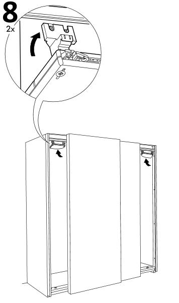 установка левого модуля