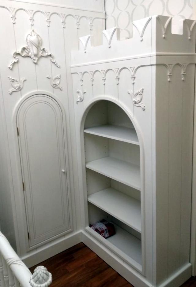 декоративная отделка шкафа