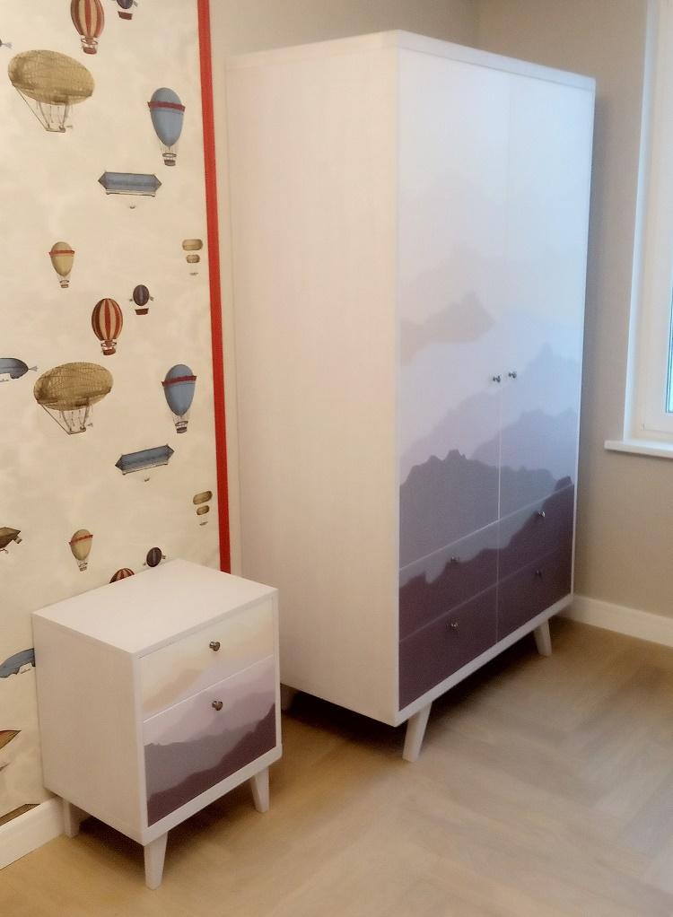 Шкаф и тумба тимон
