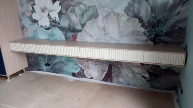 навеска мебельной консоли
